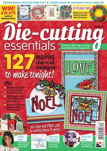 Die-Cutting Essentials No.30 - Magazin - (DCE30)