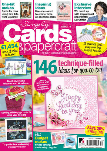 Simply Cards & Papercraft 174 -  Magazin
