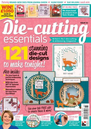 Die-Cutting Essentials No.32 - Magazin - (DCE32)