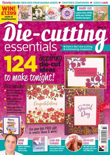 Die-Cutting Essentials No.33 - Magazin - (DCE33)