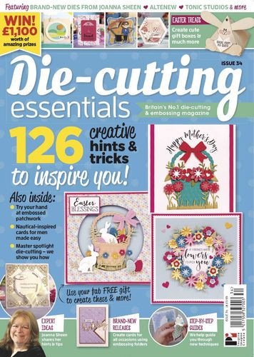 Die-Cutting Essentials No.34 - Magazin - (DCE34)