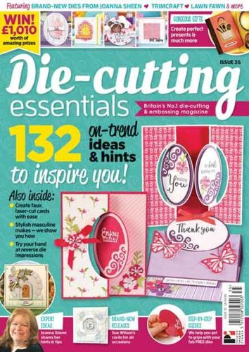 Die-Cutting Essentials No.35 - Magazin - (DCE35)