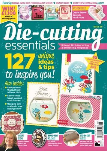 Die-Cutting Essentials No.36 - Magazin - (DCE36)